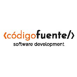 Logo de Codigo Fuente Software Development
