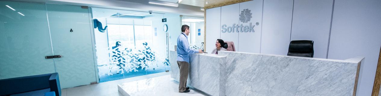 Banner de la empresa Softtek