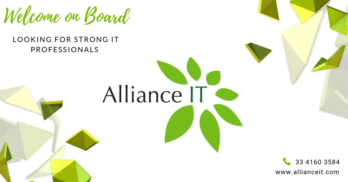 Banner de la empresa Alliance IT