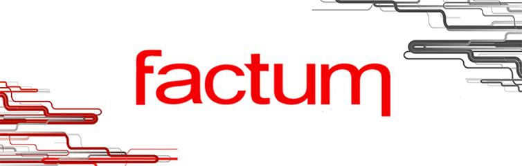 Banner de la empresa Factum
