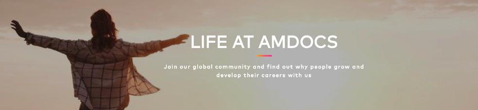 Banner de la empresa AMDOCS